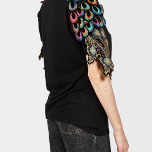 Ragyard tshirt psychedelic Black